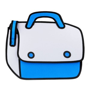 Fashion-WOMEN-MEN-2D-Jump-Style-Bag-3D-Drawing-Cartoon-Paper-Comic-Shoulder-Bag-Messenger-Crossbody[1]