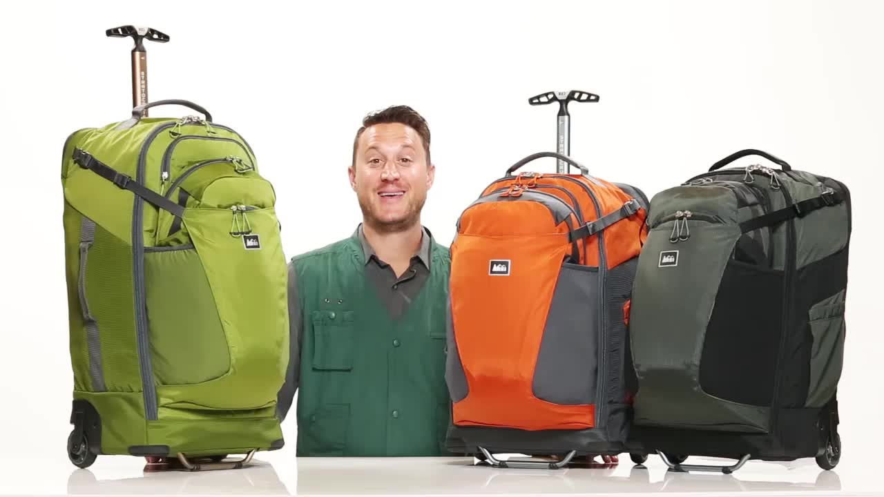 Best Rolling Backpack - Traveling Bags To Wheel