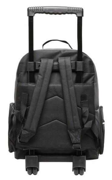 The 17 Inch Wheeled Bookbag and Rolling Student School Backpack