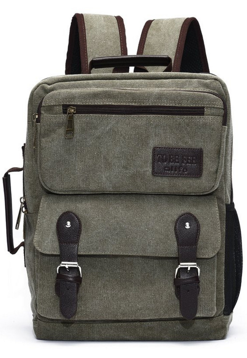 Mlife Canvas Schoolbag