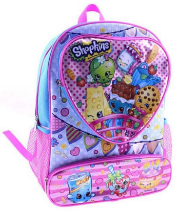 Shopkins Heart Backpack