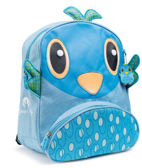 Green Frog Friends Little Kids Backpack