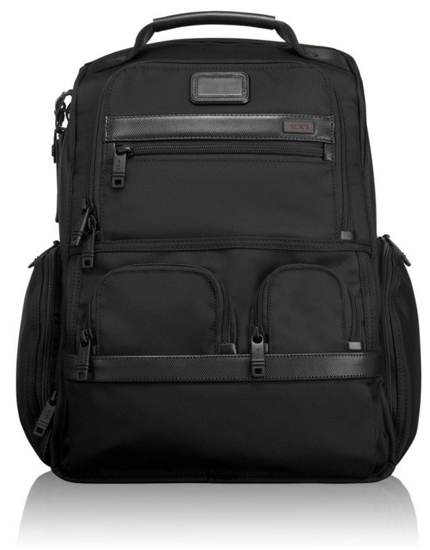 Tumi Alpha 2 Business Compact Laptop Brief Pack