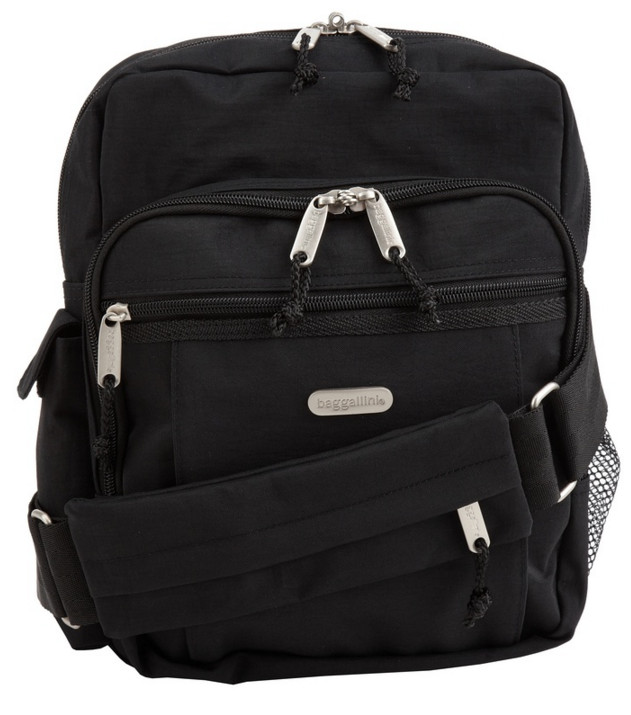 Baggalini Messenger Sling Backpack