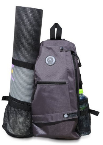 Aurorae Yoga Mat Bag; Multi-Purpose Crossbody Sling Backpack