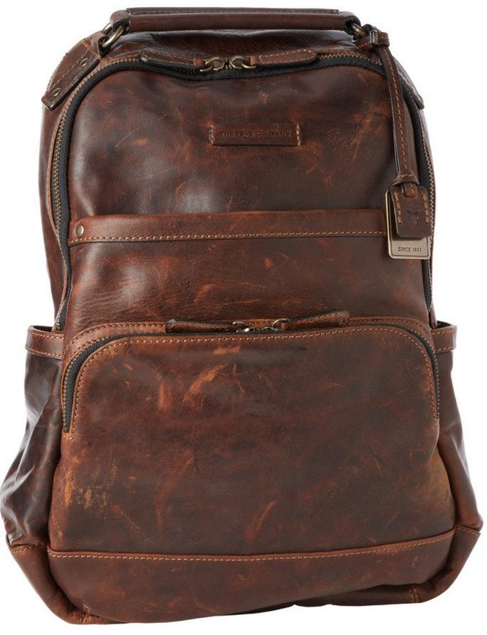 FRYE Mens Logan Antique Pull Up Backpack