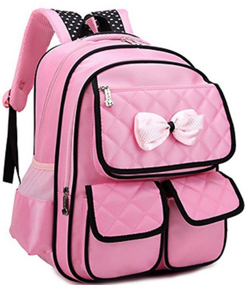 JiaYou Kid Girl Oxford Princess Bag Backpack Schoolbag