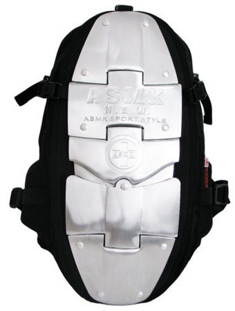 Uni-sex Ultramodern Aluminium Alloy Shield Motorcycle bag/Backpack