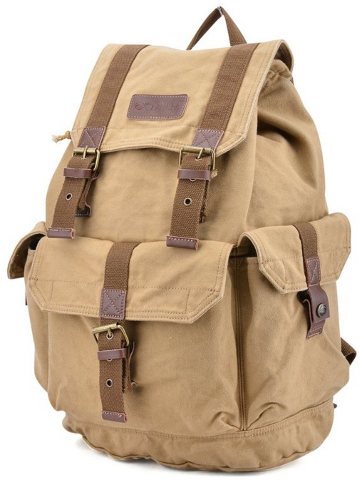 Gootium 21101 Specially High Density Thick Canvas Backpack/Rucksack