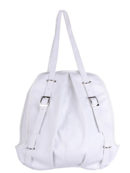 Cute Casual Style Backpack School Bag Tote Handbag Purse, Faux Leather Shoulder Hobo Bag Satchel for Girls