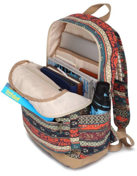 Kinmac 2015 Bohemian Patten Backpack