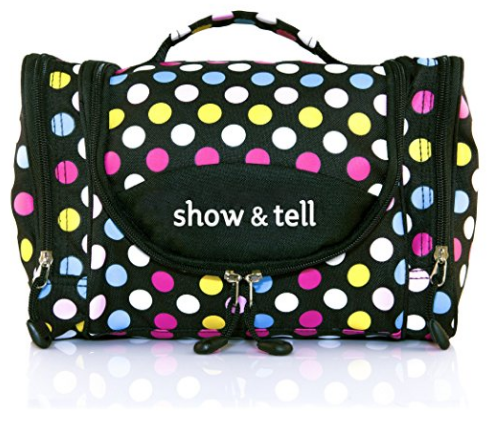 MakeUp Organizer in Polka Dot by Show&Tell